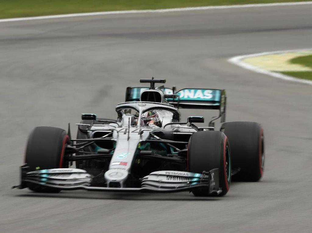 Hamilton Tercepat di FP3 GP Brasil