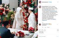 Dian Pelangi menikah dengan Sandy Nasution
