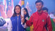 Perenang Andalan Jabar Jadi Pembawa Obor di Pembukaan Popnas 2019