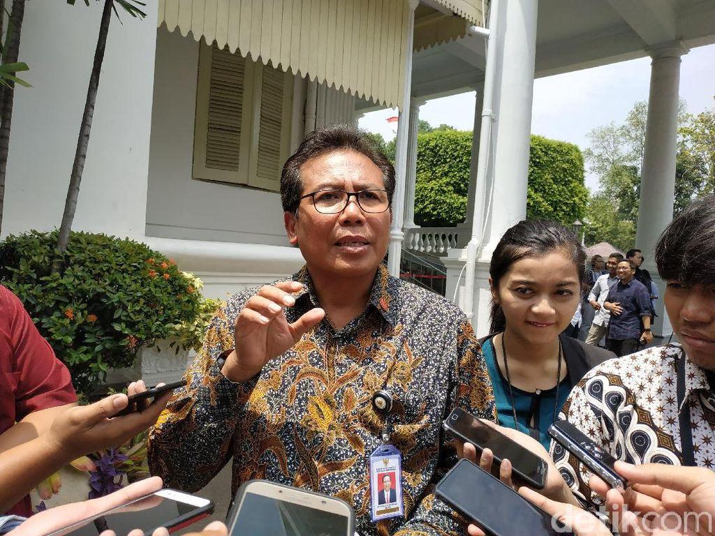 Video Soal Pos Wakil KSP, Istana Tepis Isu Jokowi Bagi-bagi Kursi