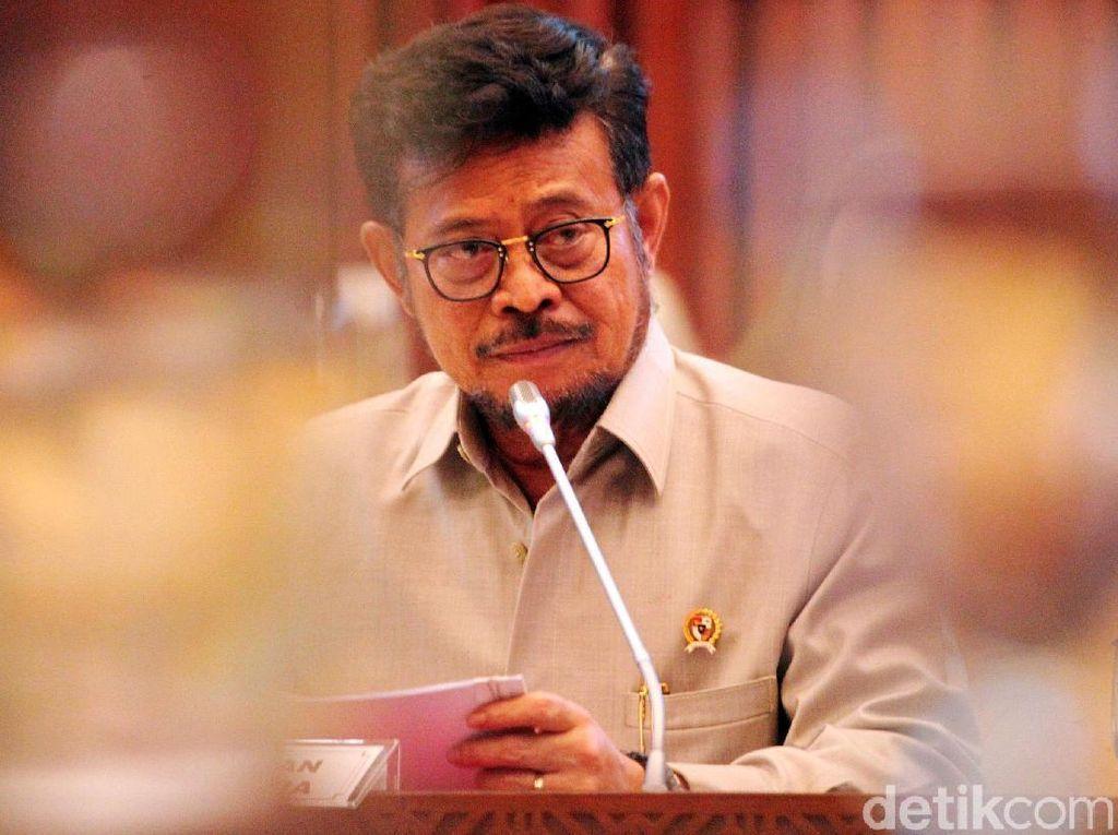 Mentan Rapat Bahas Anggaran Rp 21 T, DPR Singgung Sense of Crisis