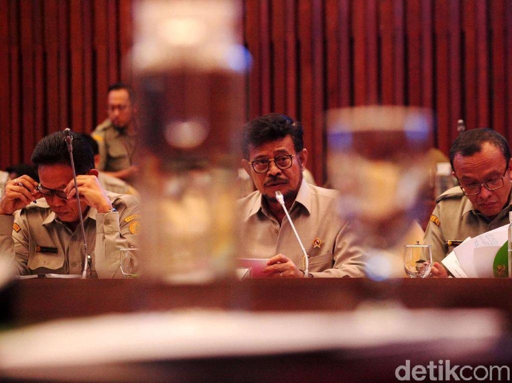Bahas Ketahanan Pangan dari Hutan, DPR Panggil SYL hingga Siti Nurbaya