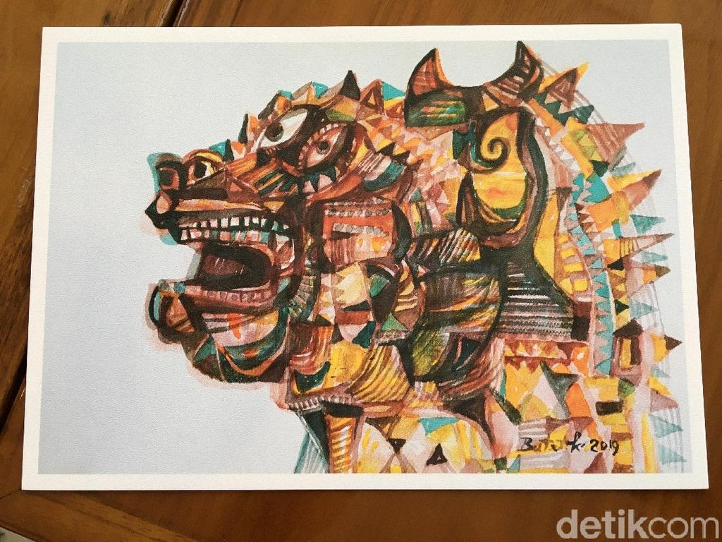 Karya Cat Air Butet Kartaredjasa dan Widiyatno Segera Dipajang di Jakarta