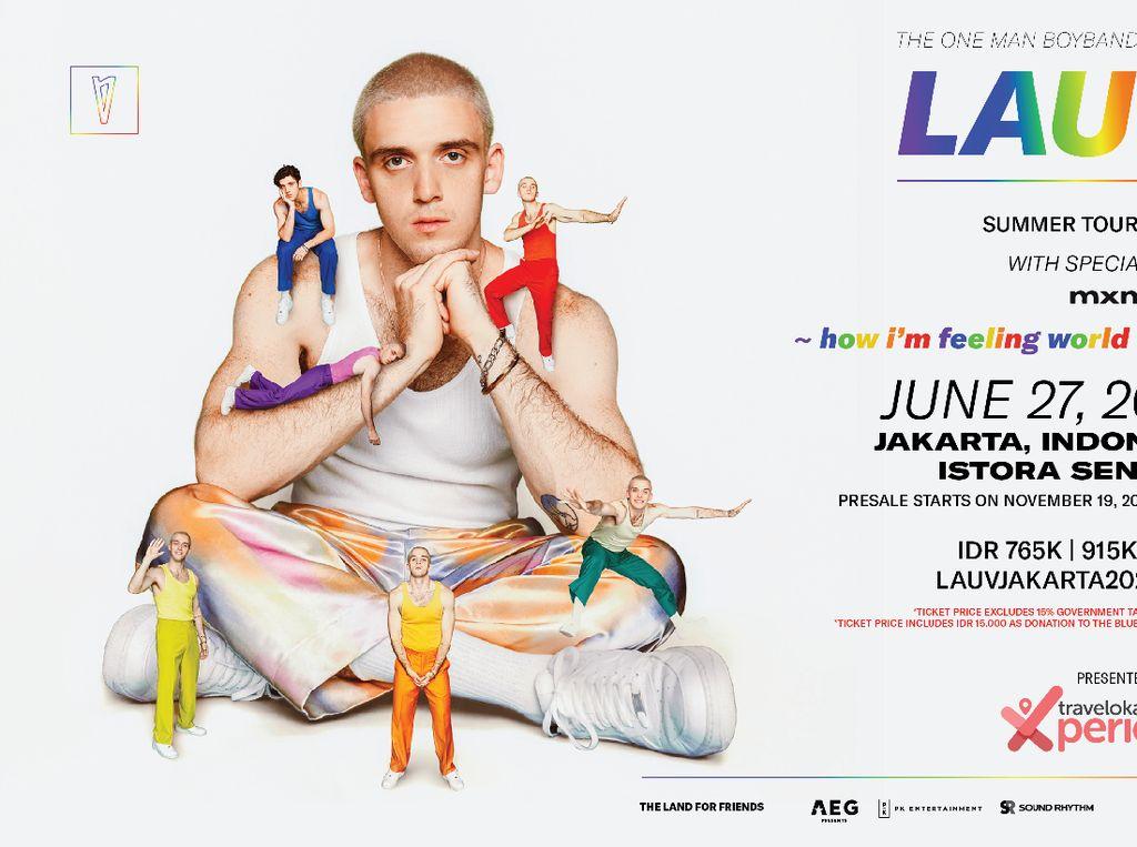 Lauv Resmi Tunda Konser di Jakarta