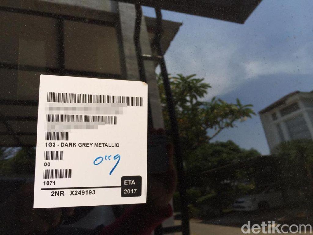 Masih Ada Barcode di Mobil? Tenang Tak Bikin Mobil Gampang Dicuri