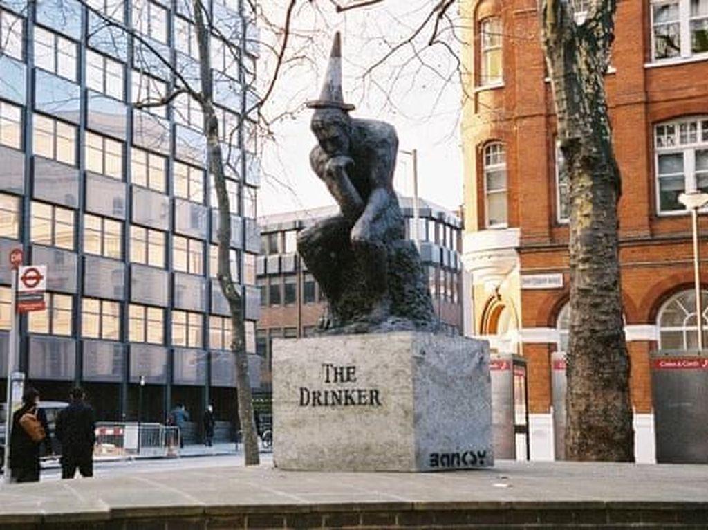 Kisruh Patung Rp 18,2 M Banksy yang Hilang Tiba-tiba Dilelang di London