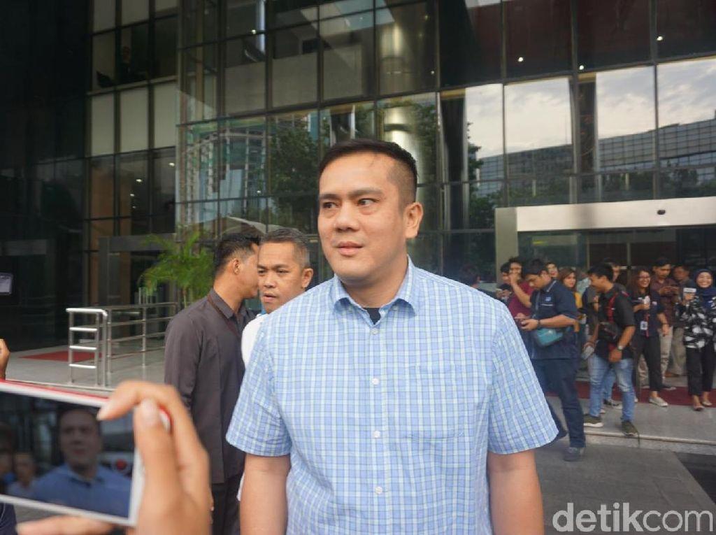 Selesai Diperiksa KPK, Anak Menkum HAM Dicecar soal Proyek di Medan