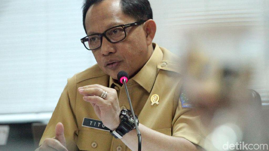 Mendagri Bersama Komite I DPD Rapat Soal Pilkada