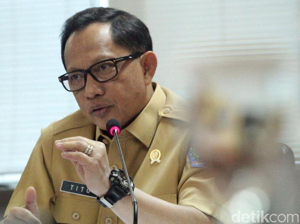 Mendagri Tito Bicara Batasan Kebebasan Berserikat-Berpendapat Ormas