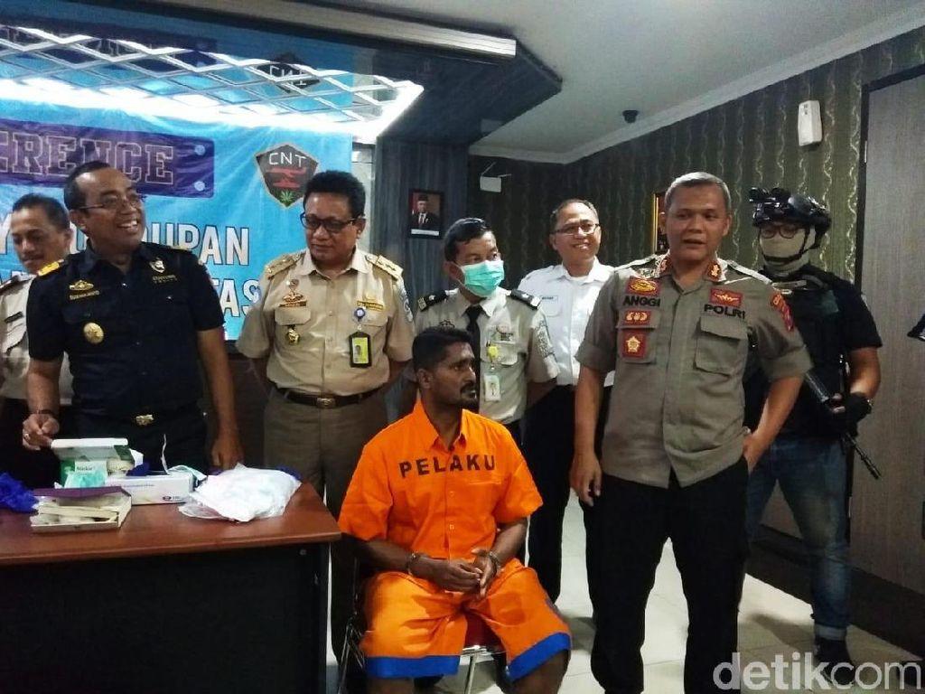 WN India Ditangkap di Bandara Juanda Karena Bawa 1,33 Kg Sabu
