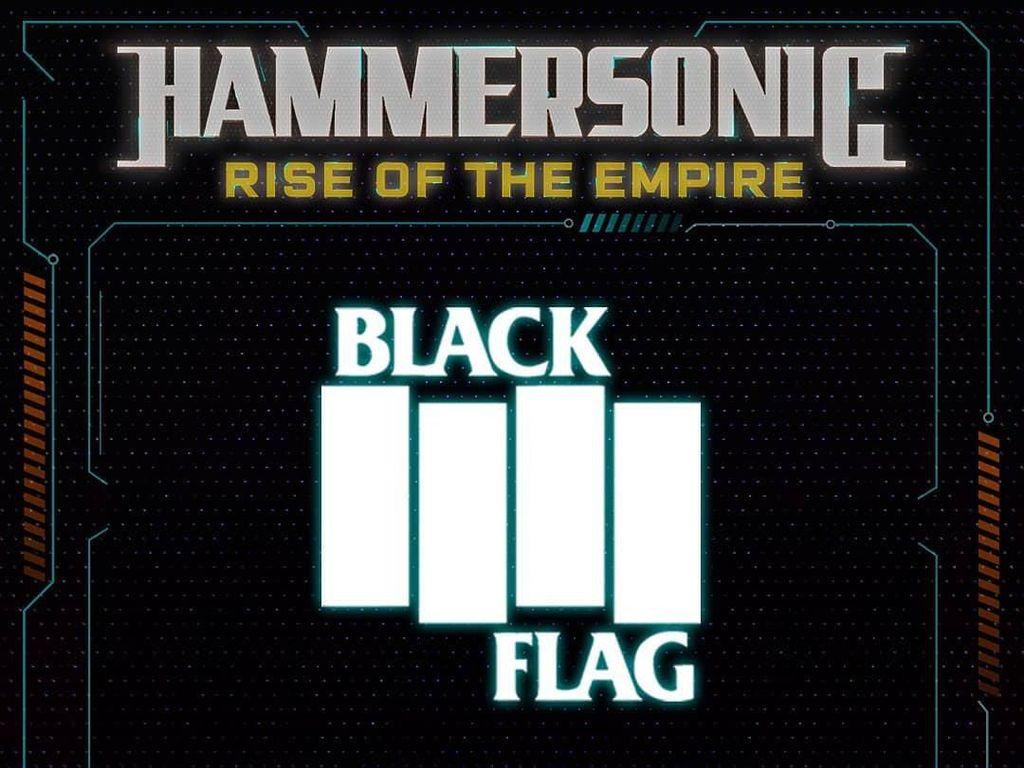 Selain Slipknot, Black Flag Juga Tampil di Hammersonic