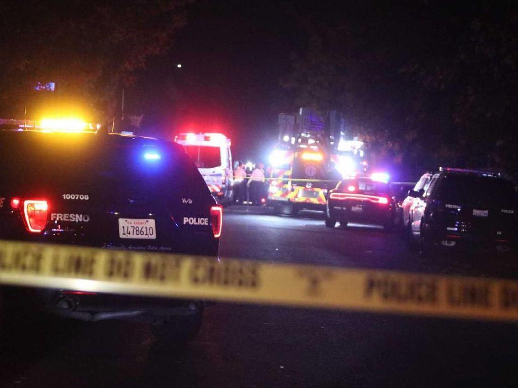 Penembakan Brutal Saat Acara Nobar di California, 4 Orang Tewas