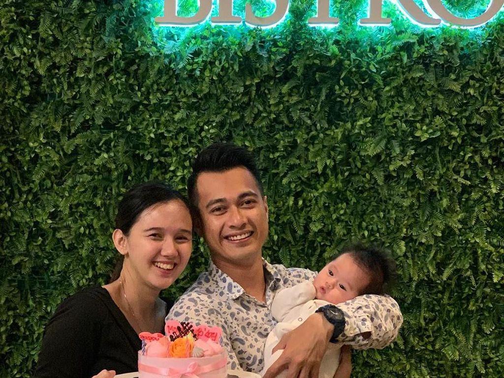 Hamil 5 Bulan, Istri Eza Gionino Ngidam Jalan-jalan