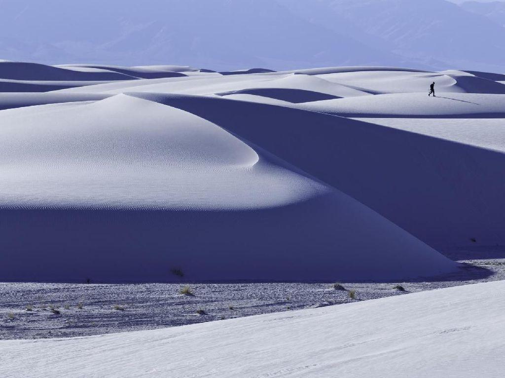 Ladang Gipsum Terluas Sedunia Jadi Taman Nasional Terbaru AS