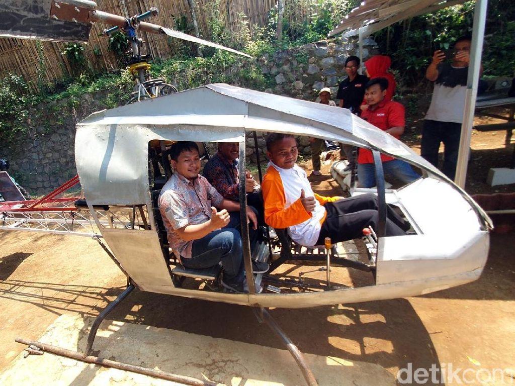 Lapan Sebut Helikopter Buatan Jujun Belum Layak Terbang