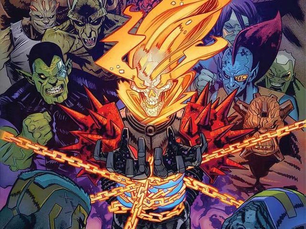 Ghost Rider Punya Senjata Favorit Terbaru