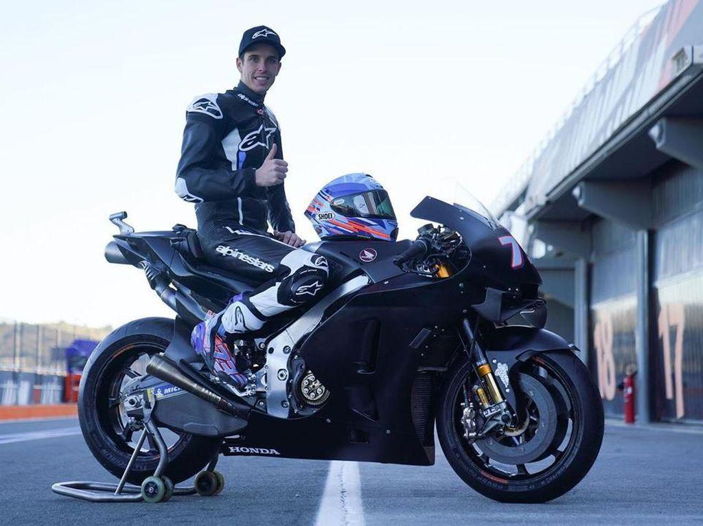 Video Alex Marquez Tunggangi Honda RC213V