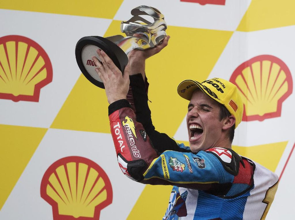 Alex Marquez Juara MotoGP Virtual Race Misano