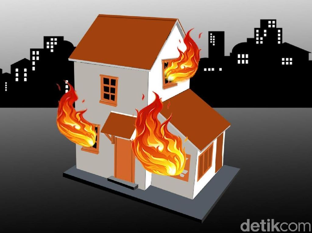 Puluhan Rumah Adat Terbakar-1 Orang Tewas di Sumba, Diduga Akibat Petir