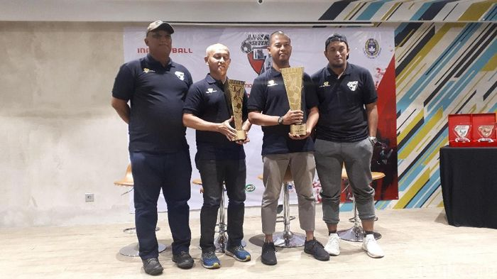 Jakarta Seven Soccer digelar di jakarta. (Foto: Mercy Raya/detikcom)