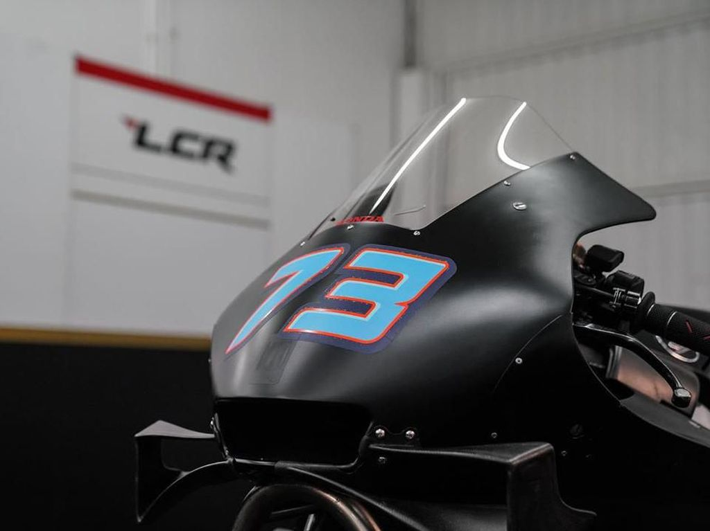 Penampakan Perdana Honda RC213V Tunggangan Alex Marquez