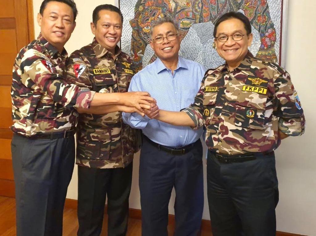 FKPPI Dukung Bamsoet dan Indra Bambang Jadi Caketum Golkar