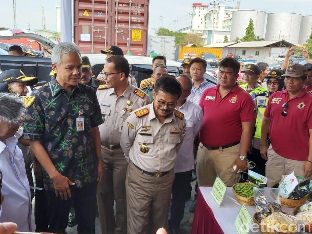 Mentan Lepas Ekspor Porang Rp 1,2 M dari Jateng