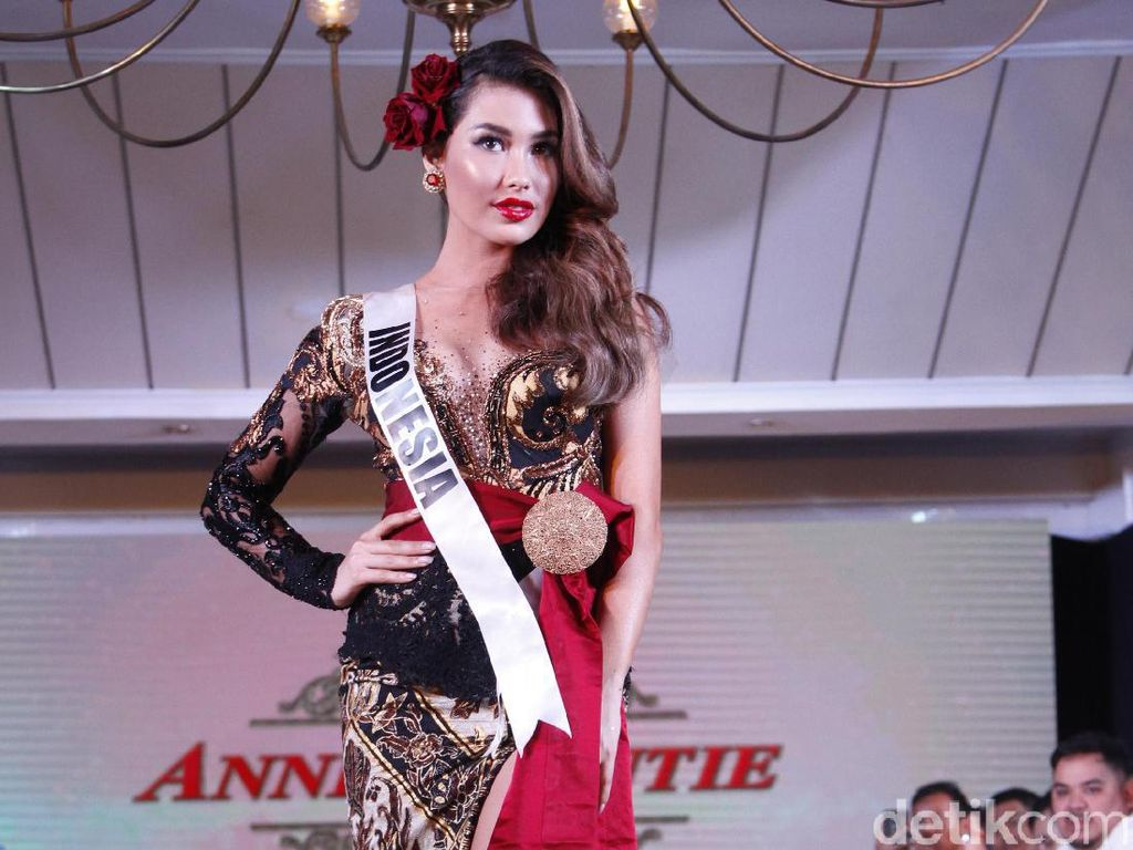 Puteri Indonesia Frederika Alexis Cull Yakin Jadi Miss Universe 2019