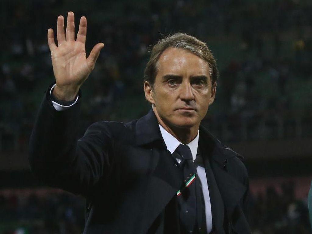 Catat Rekor di Kualifikasi Piala Eropa, Mancini: Jadi Juara Lebih Penting