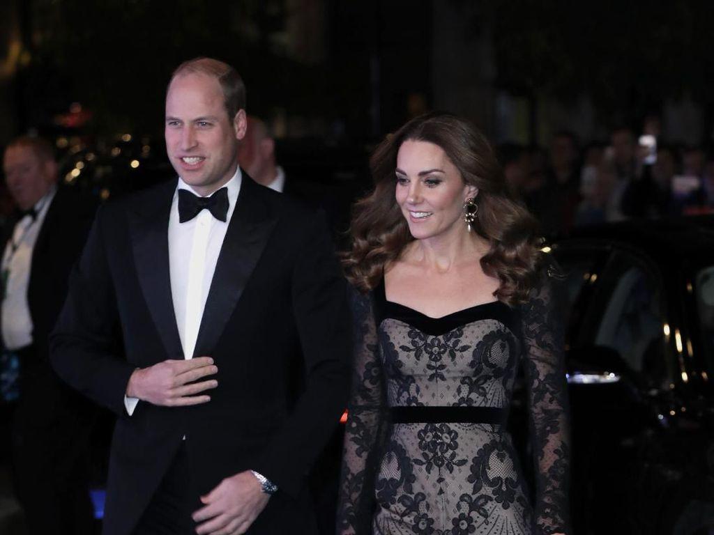 Foto: Kencan Penuh Gaya ala Kate Middleton dan Pangeran William