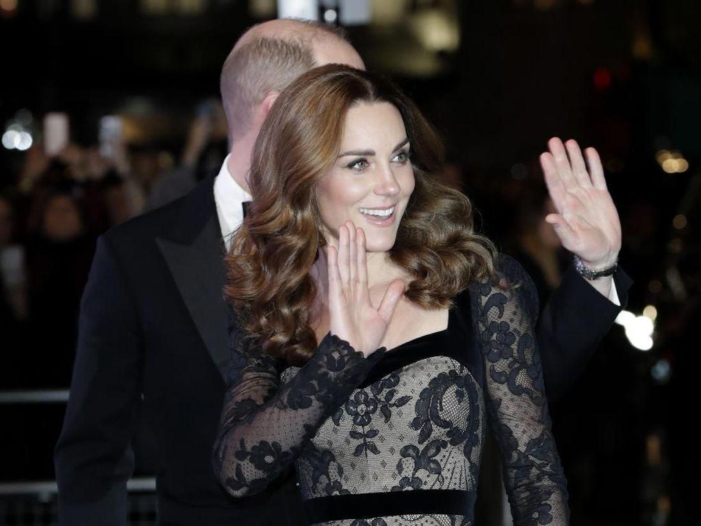 Kate Middleton Batal Temani Pangeran William Beberapa Menit Sebelum Pergi