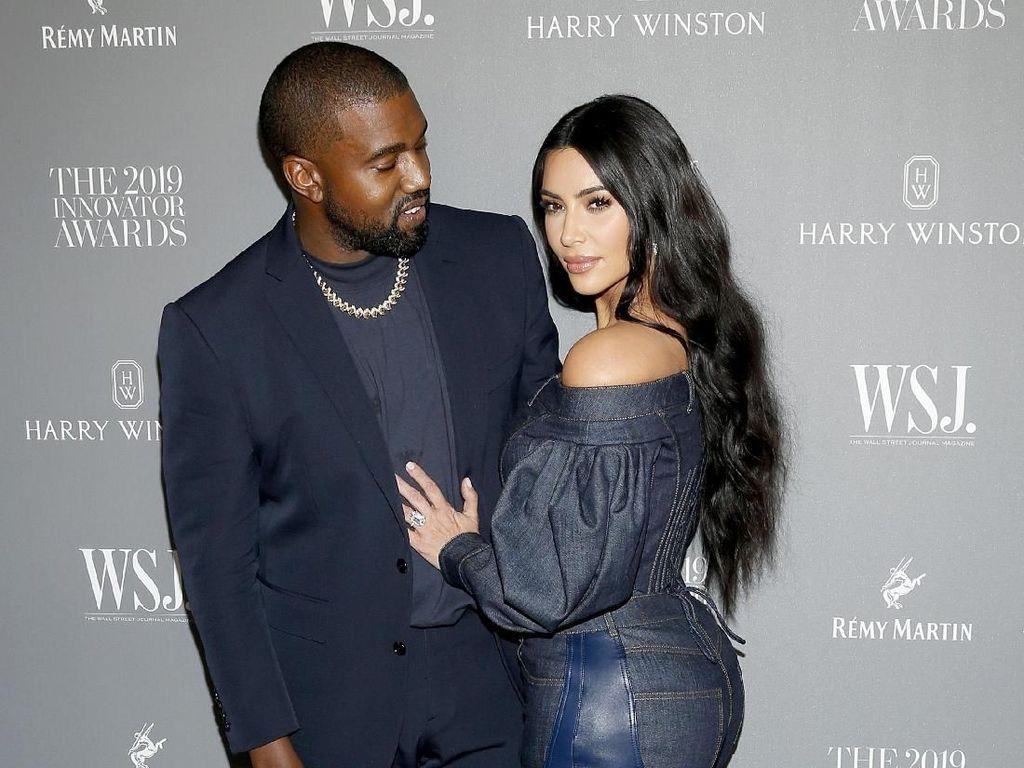 Kanye West Siap Jadi Presiden, Kim Kardashian Dukung Kasih Lambang Bendera AS