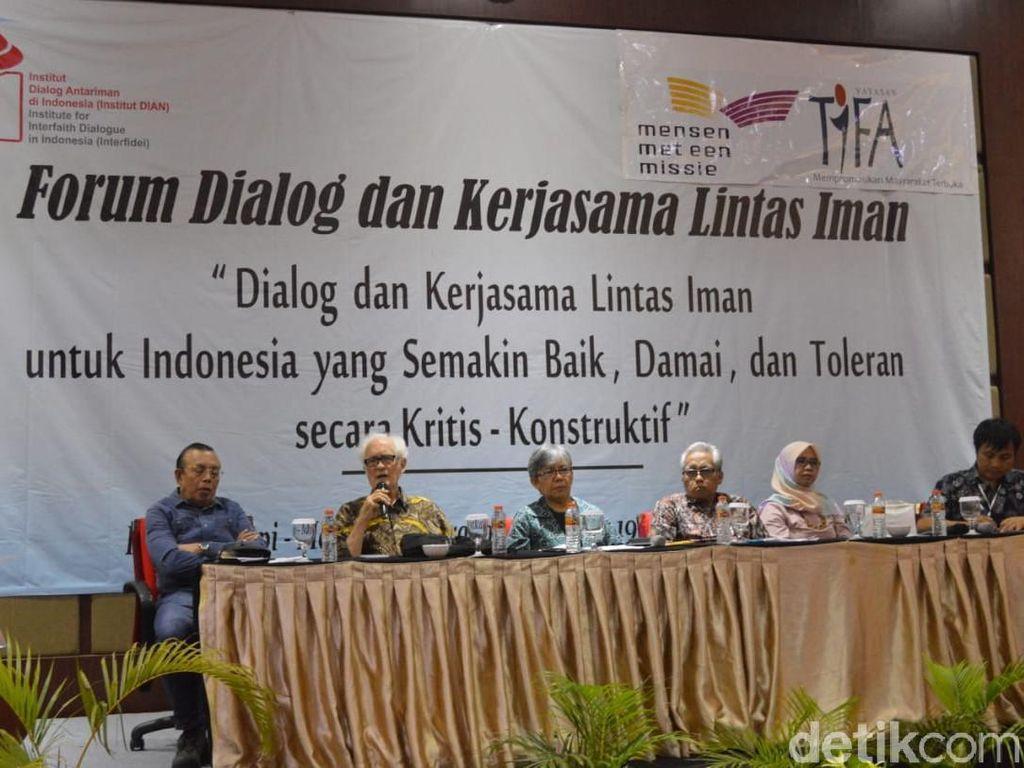 Forum Dialog Lintas Iman Hasilkan Rekomendasi untuk Pemerintah