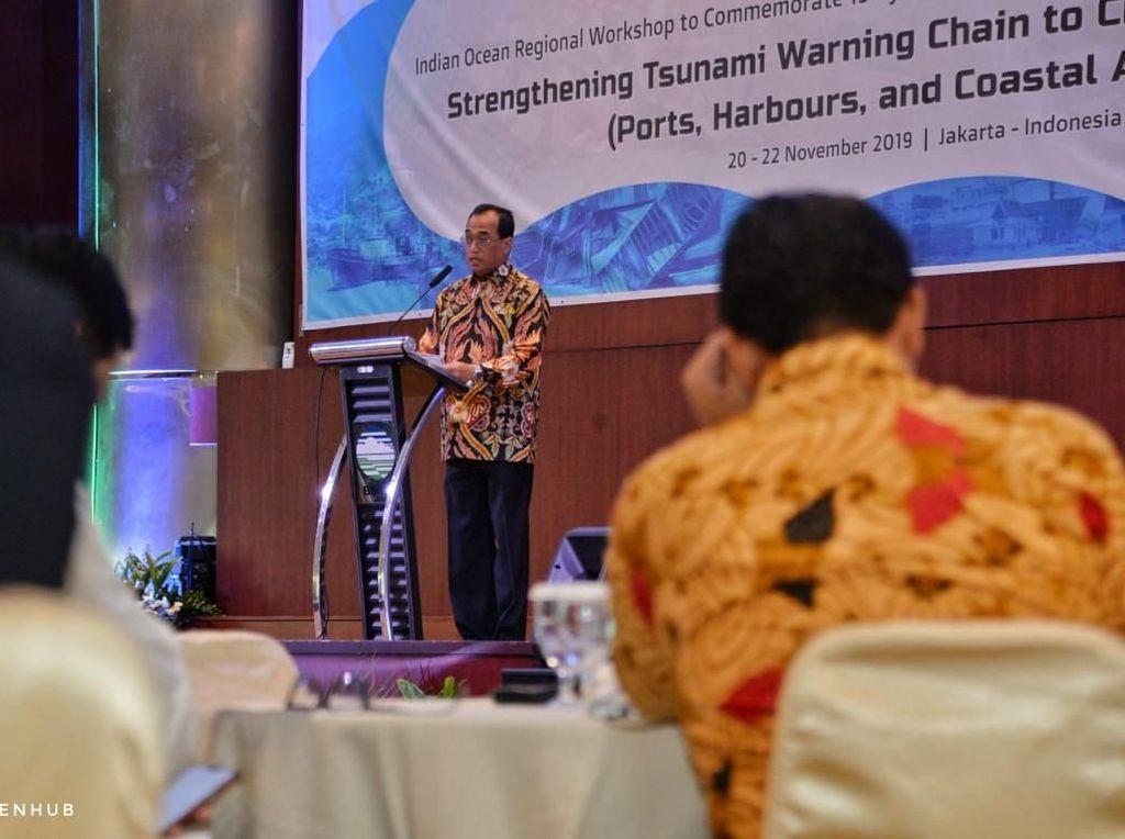 Menhub: Mitigasi Bencana Penting untuk Pengembangan Kota Pesisir