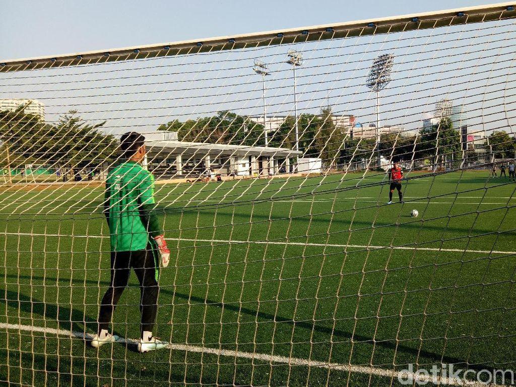 Latihan Terakhir di Jakarta, Timnas U-23 Fokus ke Set-Piece