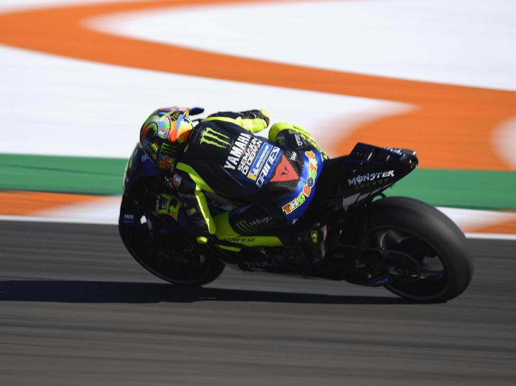 Pendekatan Baru Yamaha Bikin Valentino Rossi Senang