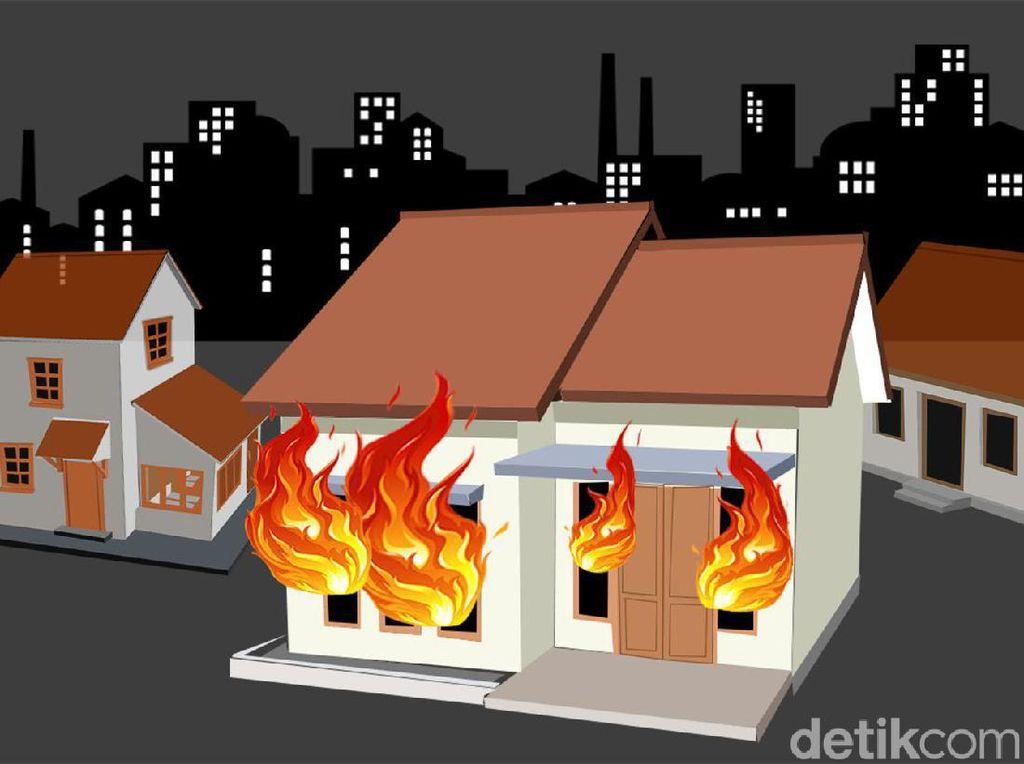 Rumah di Tanjung Priok Jakut Terbakar, Pemilik Luka-luka