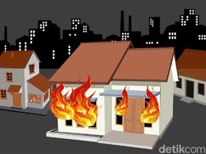 Tabung Gas Bocor di Jatinegara Sore Tadi, 3 Orang Luka Bakar