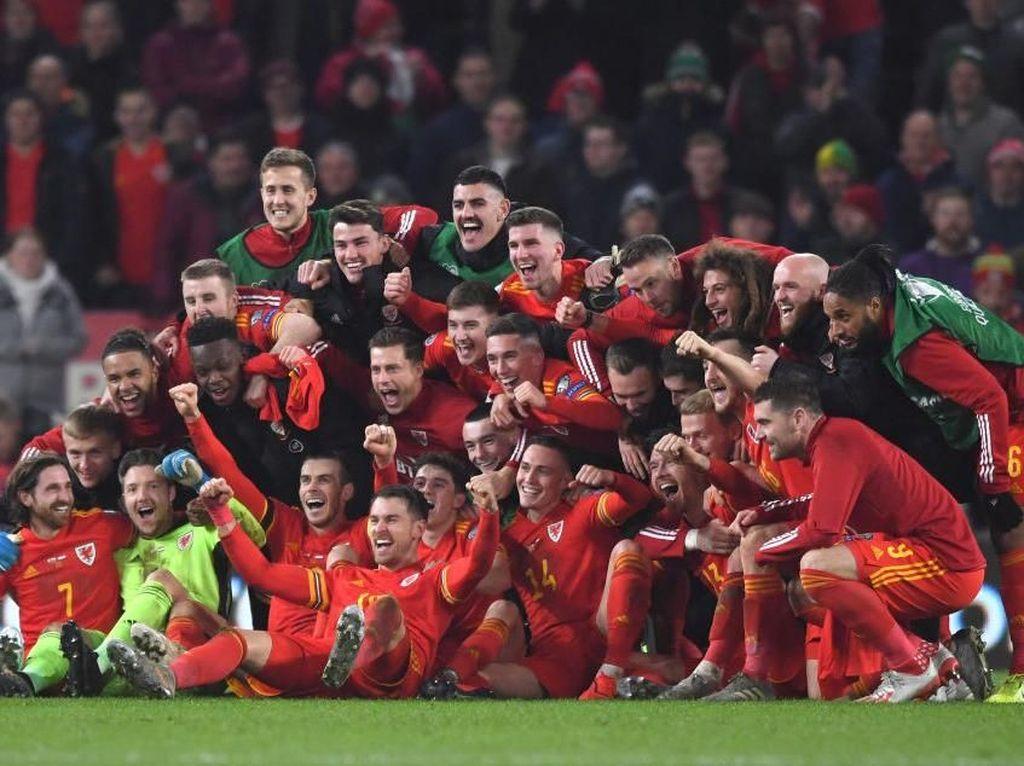 Jadwal Wales Vs Swiss di Grup A Euro 2020