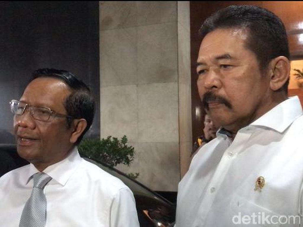 Usai Bertemu, Menko Polhukam-Jaksa Agung Sepakat Program TP4 Dibubarkan