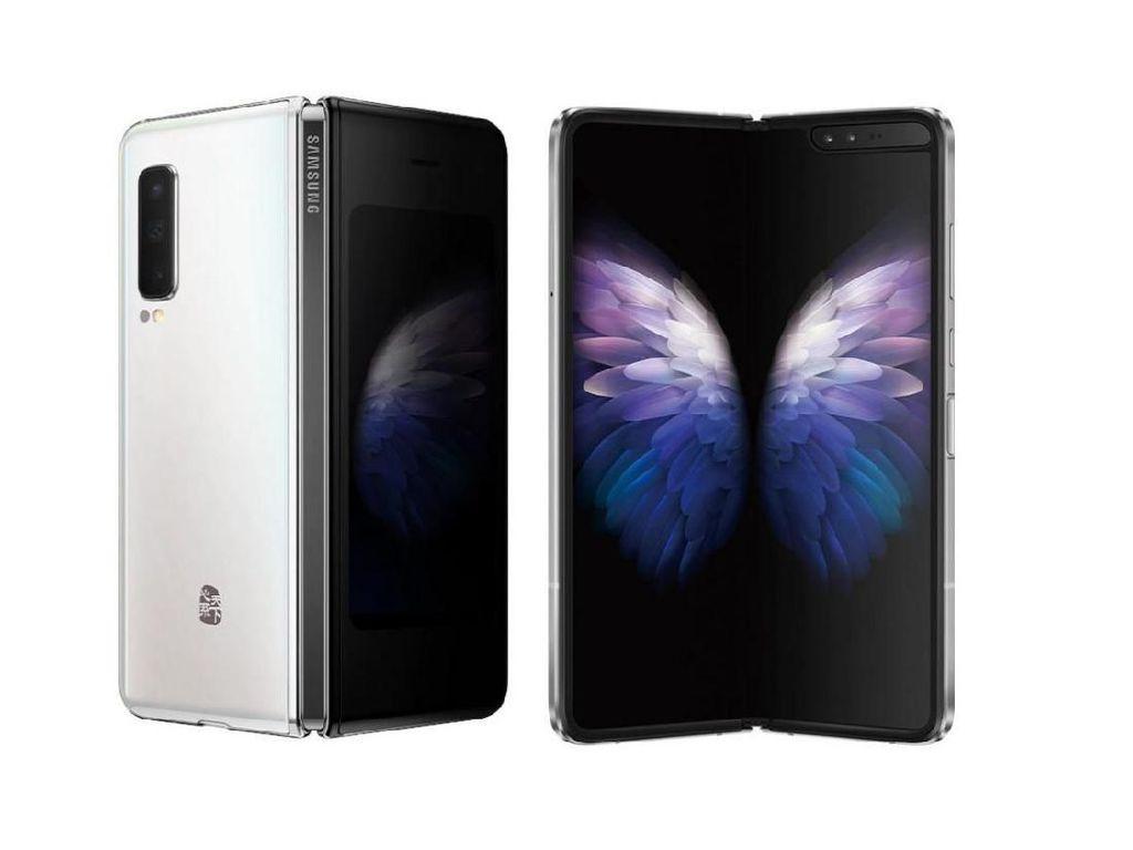 Ponsel Layar Lipat Samsung W20 5G Meluncur Bawa Spek Nendang