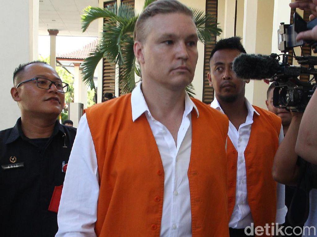 Isap Kokain Bareng Manajer Club di Canggu Bali, WN Ausie Diadili
