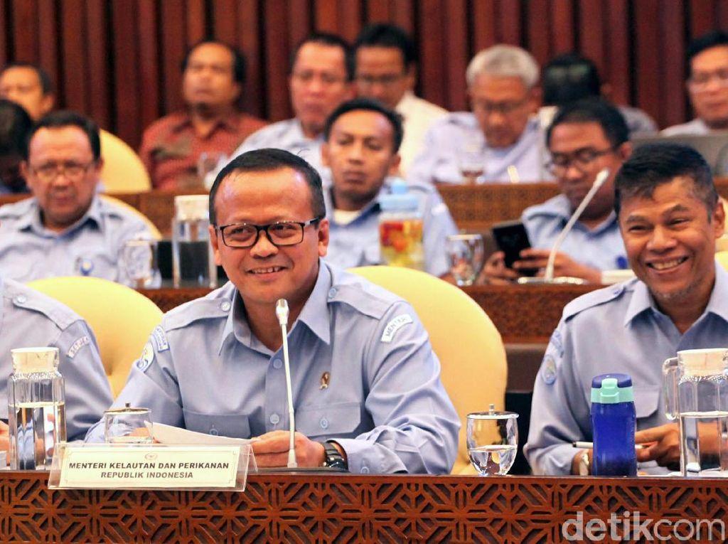 Menteri KKP Bahas Rencana Kerja Bersama Komisi IV DPR