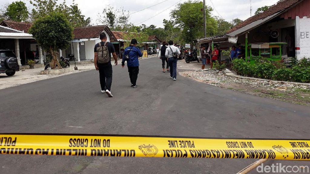 Suasana Penggerebekan Rumah di Gunung Kidul oleh Densus 88