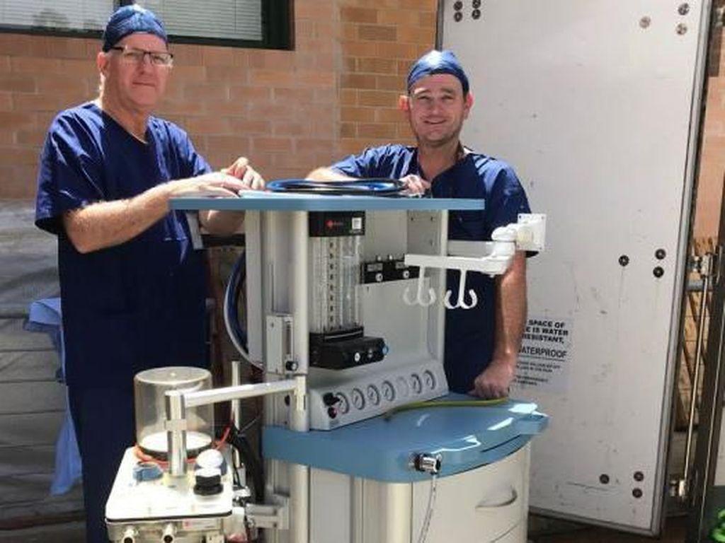 Daripada Dibuang, Peralatan Rumah Sakit Bekas di Australia Dikirim ke Irak