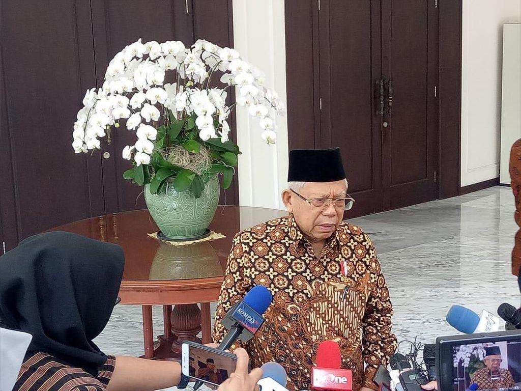 Minta Bank Muamalat Diperkuat, Maruf Amin: Jangan Dibiarkan Mati