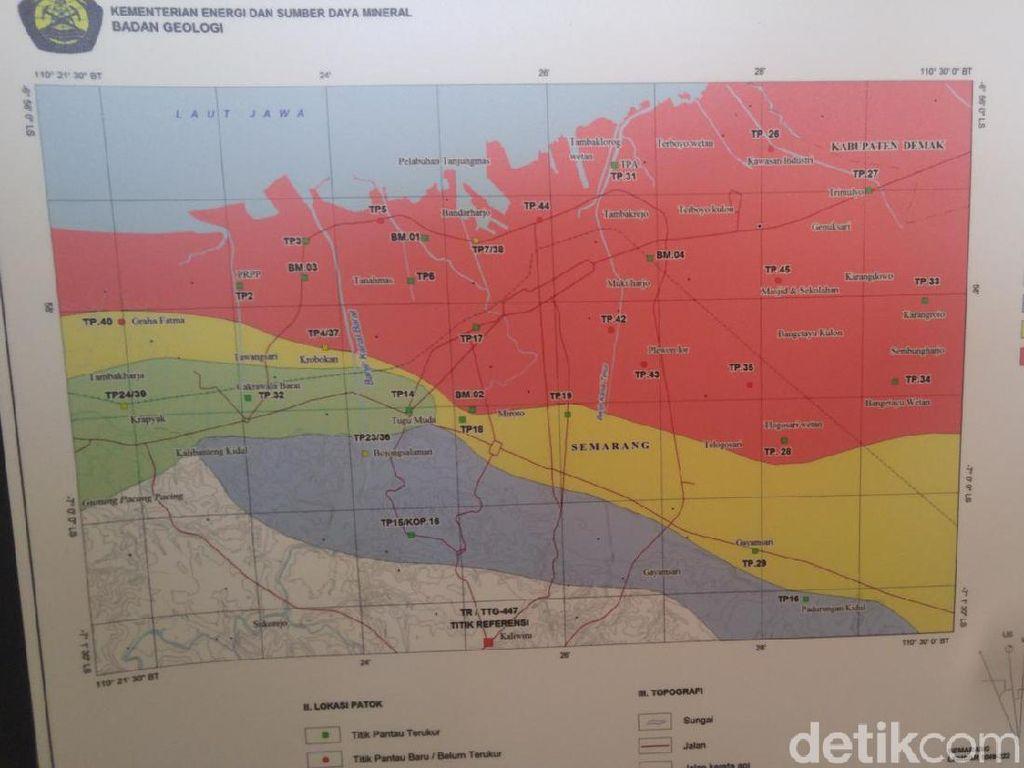 Kawasan Pesisir Semarang Tenggelam 10 Cm Per Tahun