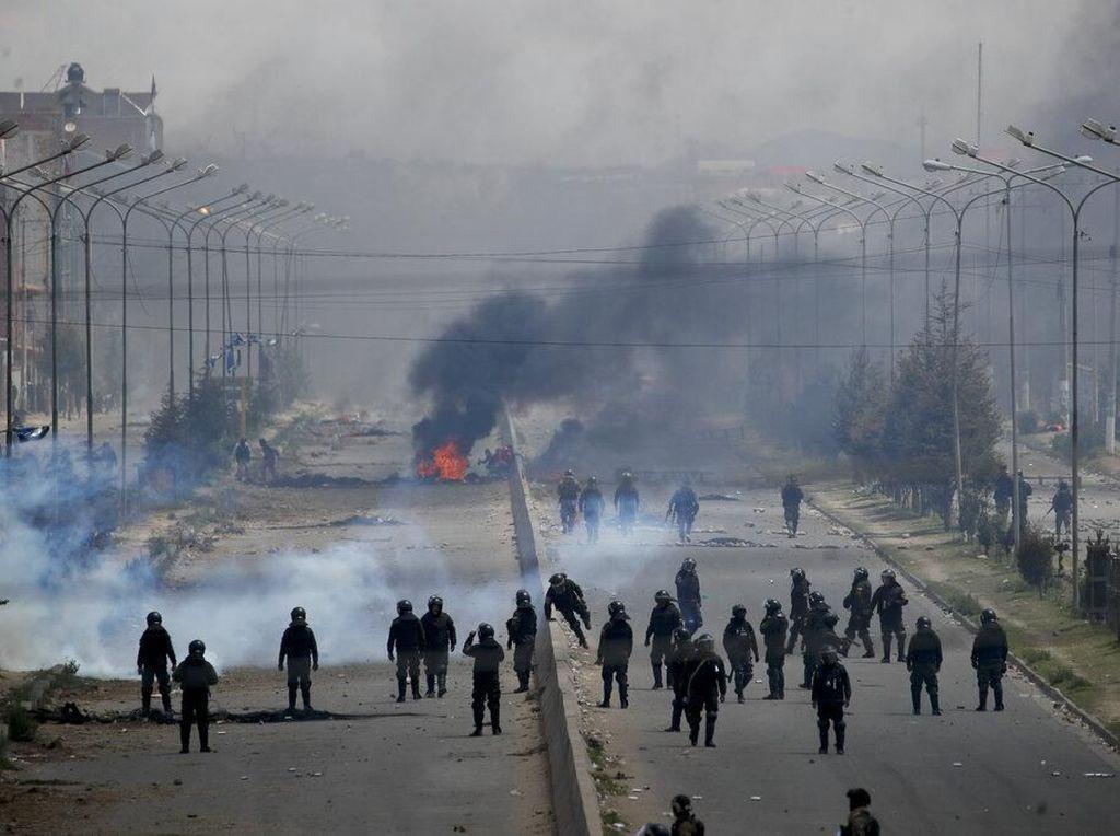 Bolivia Rusuh, Mantan Presiden Morales Dilaporkan Atas Tuduhan Terorisme
