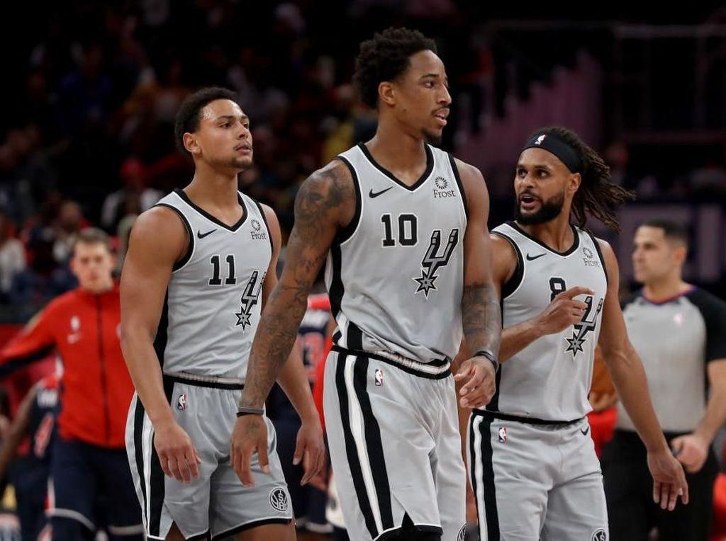 Hasil NBA: Spurs Kian Terpuruk, Clippers Atasi Perlawanan Celtics