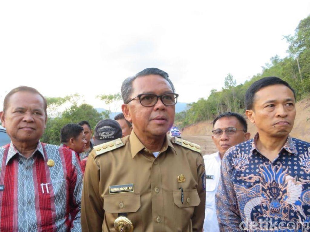 Gubernur Sulsel Targetkan Proyek Jalan Bua-Rantepao Mulai Diaspal 2020